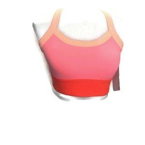 Fabletics Robyn high support sports bra orange S